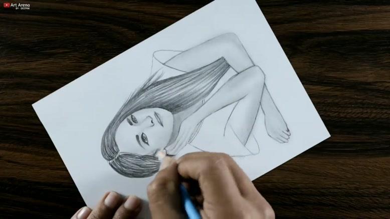آموزش نقاشی با مداد سیاه