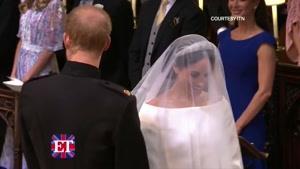 لحظه ورود مگان مارکل در عروسی سلطنتی انگلستان