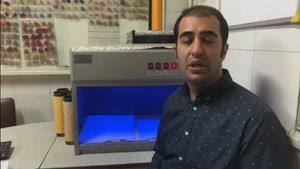 کابینت نور نخ اکریلیک