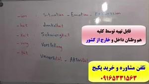 آموزش مکالمه آلمانی از پایه تا پیشرفته-آموزش گرامر آلمانی