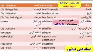 آمادگی جهت آزمون گوته زبان آلمانی از سطح A1 تا B2