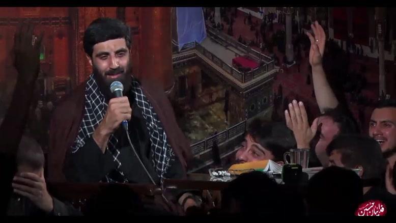 روضه خوانی  سیدرضانریمانی در شب نوزدهم رمضان 98