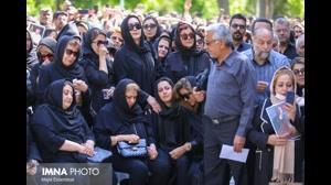 مراسم تشییع بهنام صفوی در اصفهان