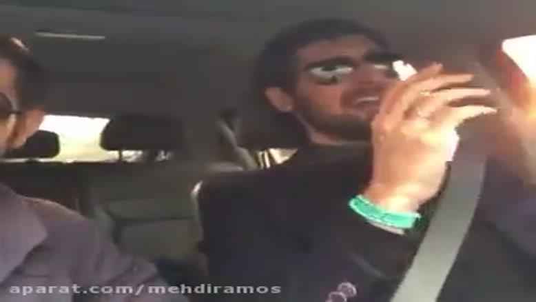 سرود حامد زمانی  در ماشین