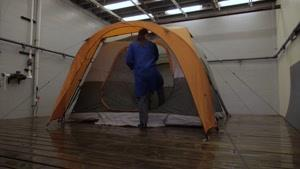 چادر مسافرتی ضد آب کلمن