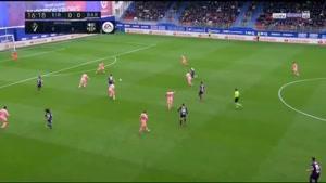 خلاصه بازی ایبار و بارسلونا ۲۰۱۹