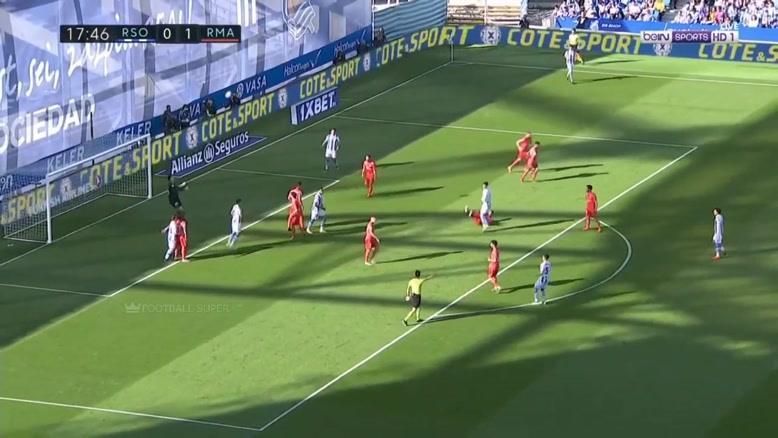 خلاصه بازی رئال سوسیداد - رئال مادرید