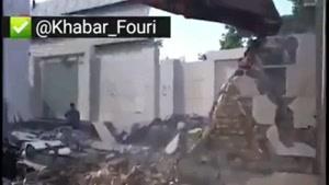 تخریب خانه دختر وزیر در لواسان