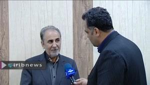 اولین مصاحبه نجفی بعد از قتل همسرش