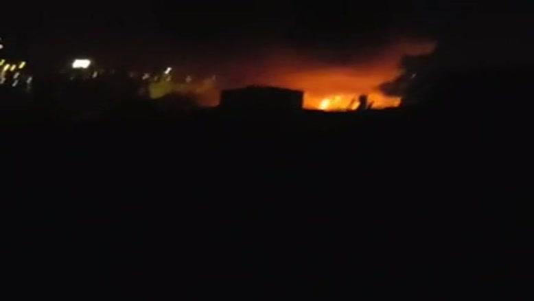 آتش سوزی در بازار سرپوشیده تبریز