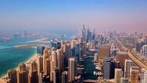 کلیپی  از زیبایی های اعجاب انگیز شهر مدرن دبی با کیفیت بالا