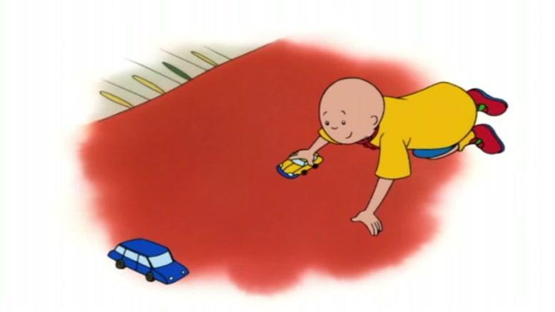 انیمیشن caillou قسمت پانزده
