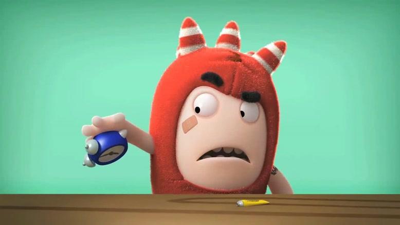 انیمیشن Oddbods - چسب مایع
