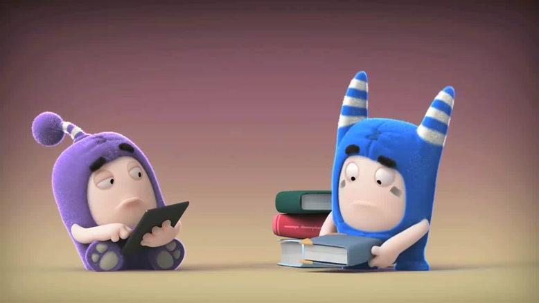 انیمیشن Oddbods - کتاب الکترونیکی