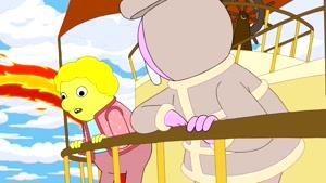انیمیشن وقت ماجراجویی Adventure Time دوبله فارسی فصل5  قسمت بیست و شش