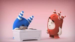 انیمیشن Oddbods - کیک