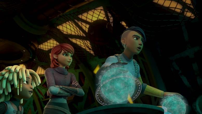 انیمیشن شروود فصل 1 قسمت هفت