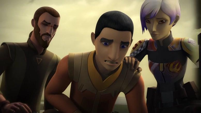 انیمیشن Star Wars Rebels  فصل 3 قسمت ده
