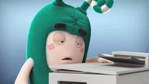 انیمیشن Oddbods - زی و دستگاه فتوکپی