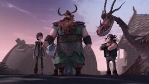 انیمیشن  اژدهاسواران دوبله فارسی فصل 2  قسمت هفده