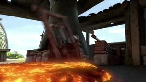انیمیشن  اژدهاسواران دوبله فارسی فصل 2  قسمت دو