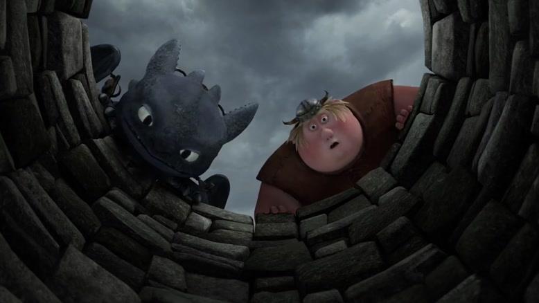 انیمیشن  اژدهاسواران دوبله فارسی فصل 2  قسمت چهار