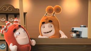 انیمیشن Oddbods - کافیشاپ