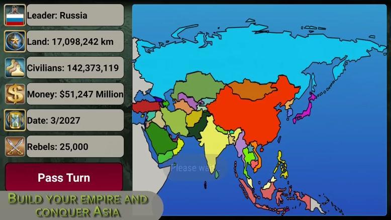 تریلر بازی موبایل Asia Empire 2027