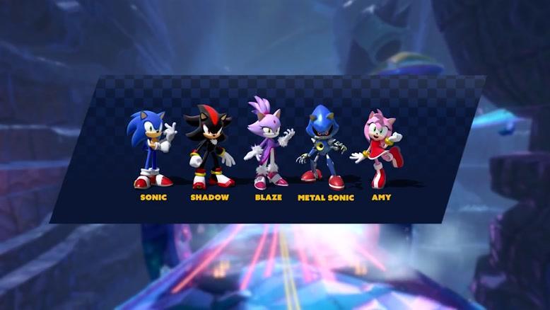 تریلر جدید بازی  Team Sonic Racing با محوریت کاراکترهای بازی