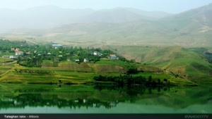 طبیعت بهاری  در کوهستان البرز