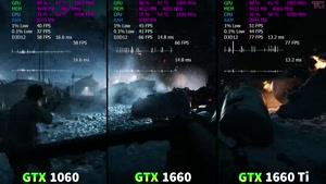 مقایسه کارت گرافیک های GTX ۱۶۶۰/Ti با GTX ۱۰۶۰ در ۸ بازی روز و مهیج