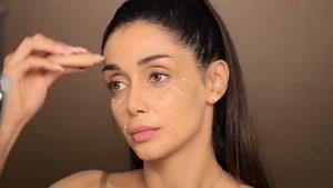 آموزش آرایش کیم کارداشیان توسط الناز گلرخ