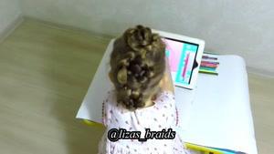 10 مدل زیبا و آسان برای بافت موی کودکان