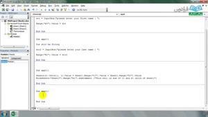 آموزش برنامه نویسی VBA در اکسل - درس دوم