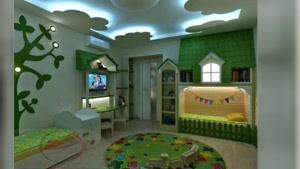 کناف سقف اتاق کودک
