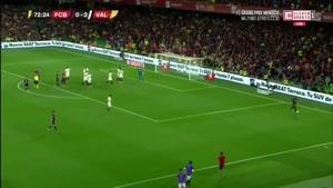 نماشا - گل اول بارسلونا به والنسیا توسط مسی