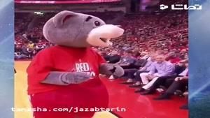 تماشا - شوخی با امیلیا کلارک توسط خرس بازی های کنفرانس غرب NBA !