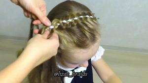 آموزش بافت موهای کودکان قسمت ۱۳
