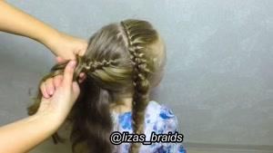 آموزش بافت موهای کودکان قسمت ۷