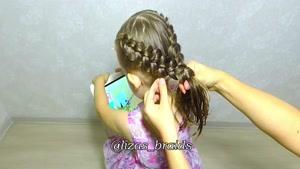 آموزش بافت موهای کودکان قسمت ۸