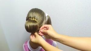 آموزش بافت موهای کودکان قسمت ۲