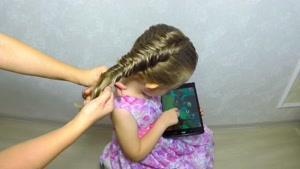 آموزش بافت موهای کودکان قسمت ۳