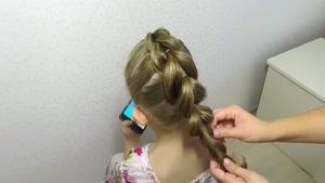 آموزش بافت موهای کودکان قسمت ۴
