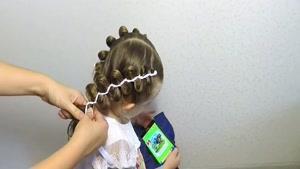 آموزش بافت موهای کودکان قسمت ۵