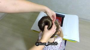 آموزش بافت موهای کودکان قسمت ۱۵