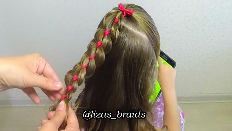آموزش بافت موهای کودکان قسمت ۹