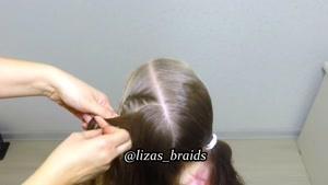آموزش بافت موهای کودکان قسمت ۱۰
