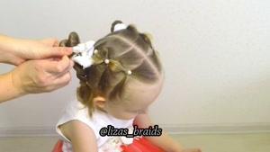 آموزش بافت موهای کودکان قسمت ۱۱