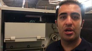 تنظیم کشش و نمره در دستگاه فینیشر در خط تولید نخ اکریلیک