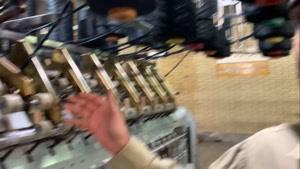 دستگاه رینگ در خط تولید نخ اکریلیک